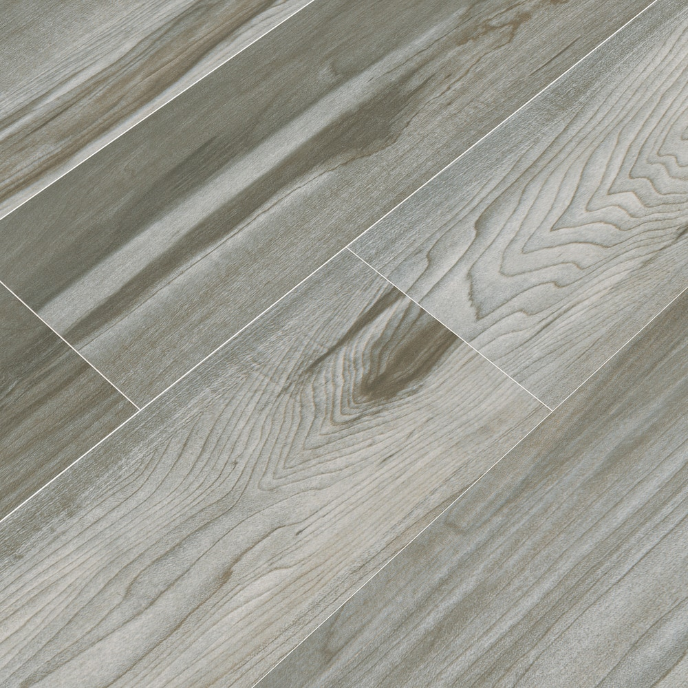 FREE Samples: Cabot Ceramic Tile - Rio Wood Popular Gray / 6\