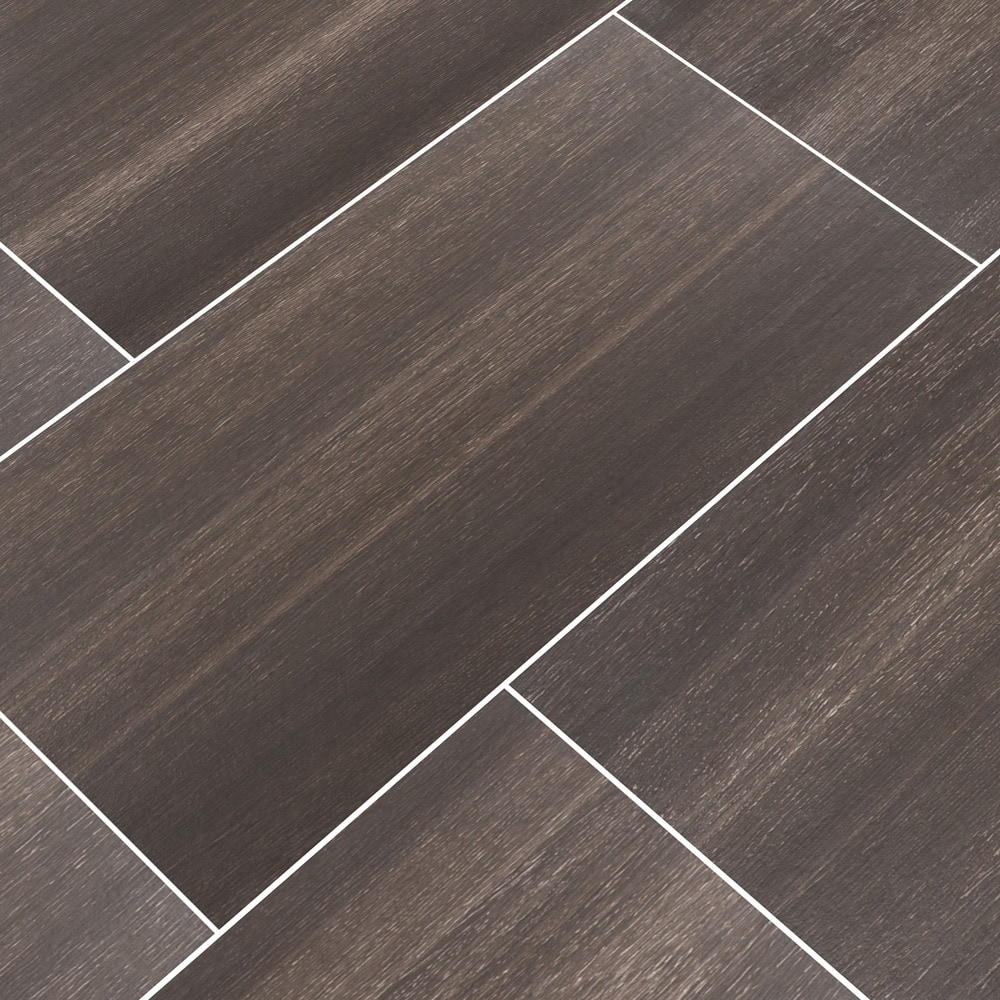 Free Samples Cabot Ceramic Tile Vista Wood Series Forest Black