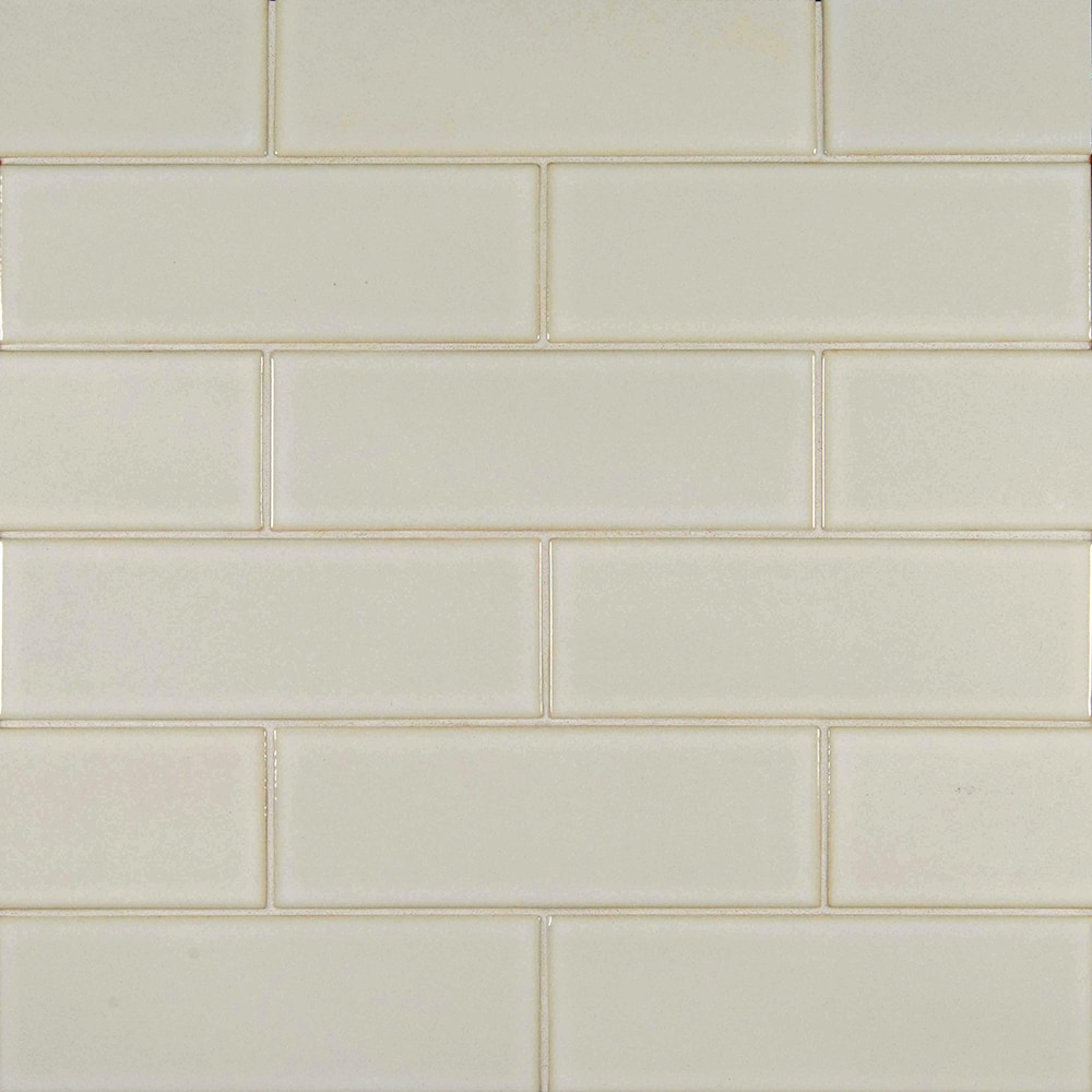 Ms International Ceramic Tile Antique White Glazed