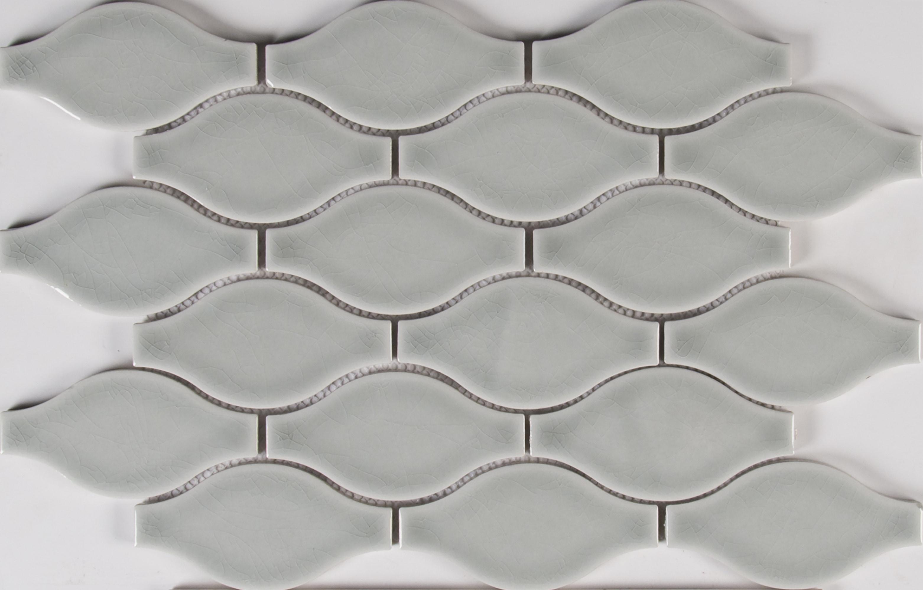 Ms international ceramic tile morning fog ogee 8mm pattern glossy dailygadgetfo Gallery