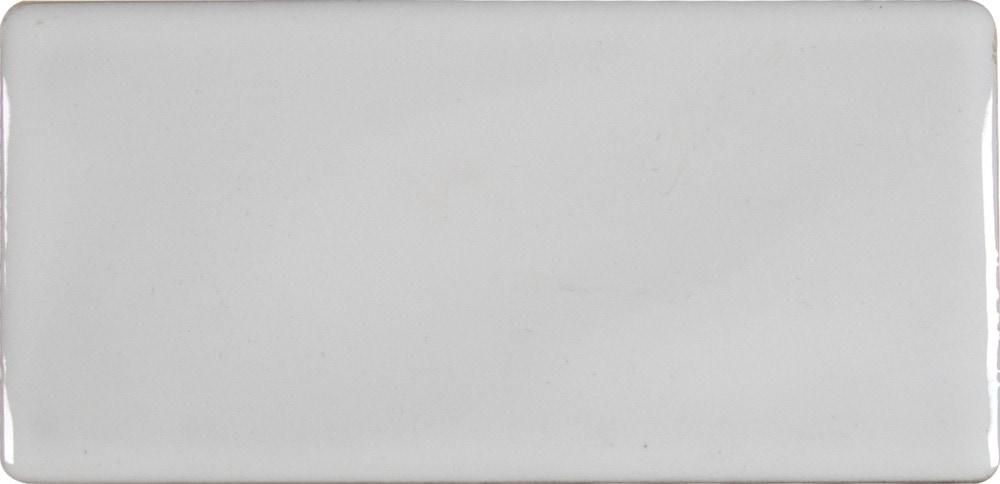 Ms International Ceramic Tile Whisper White Glazed Handcrafted 3