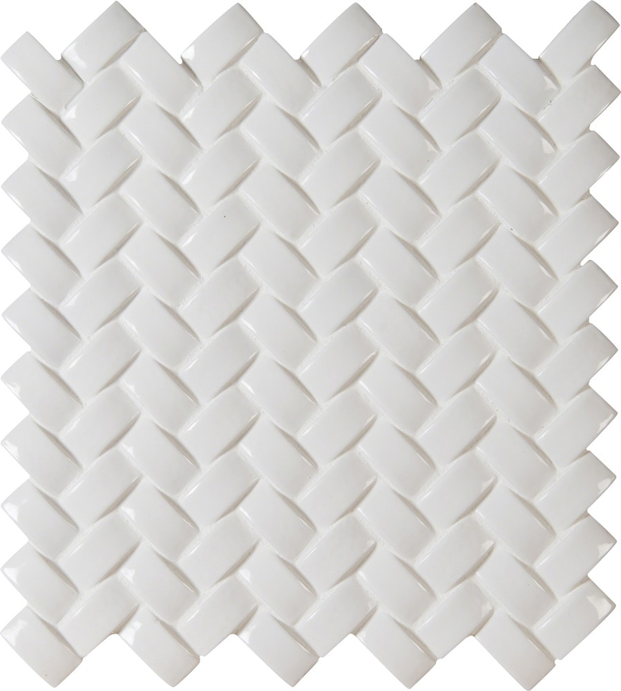 Ms International Ceramic Tile Whisper White Arched