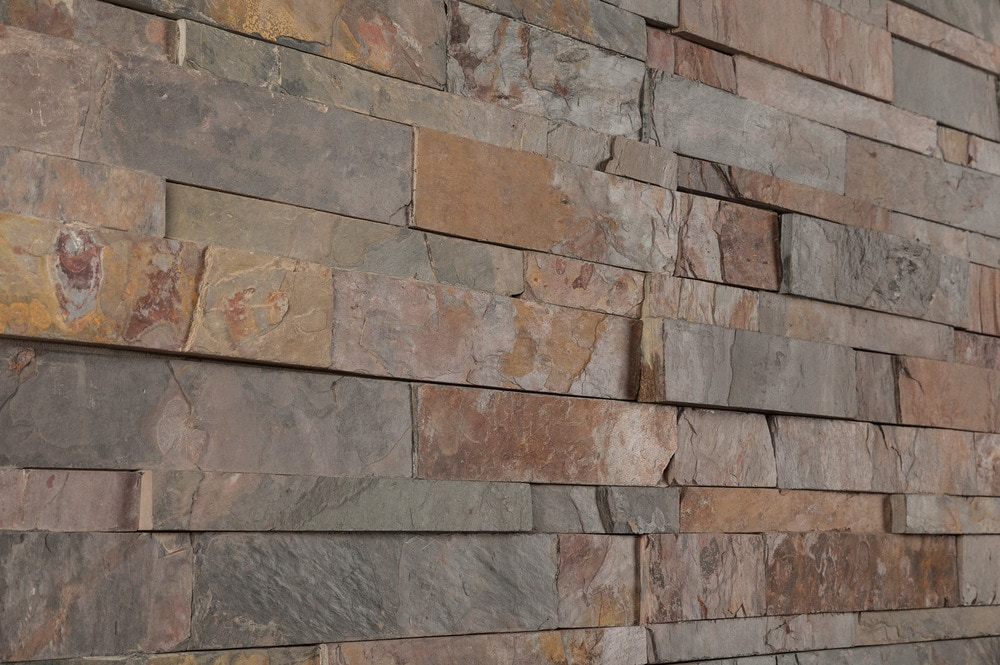 California Gold Slate : Wall stone systems slate siding california gold