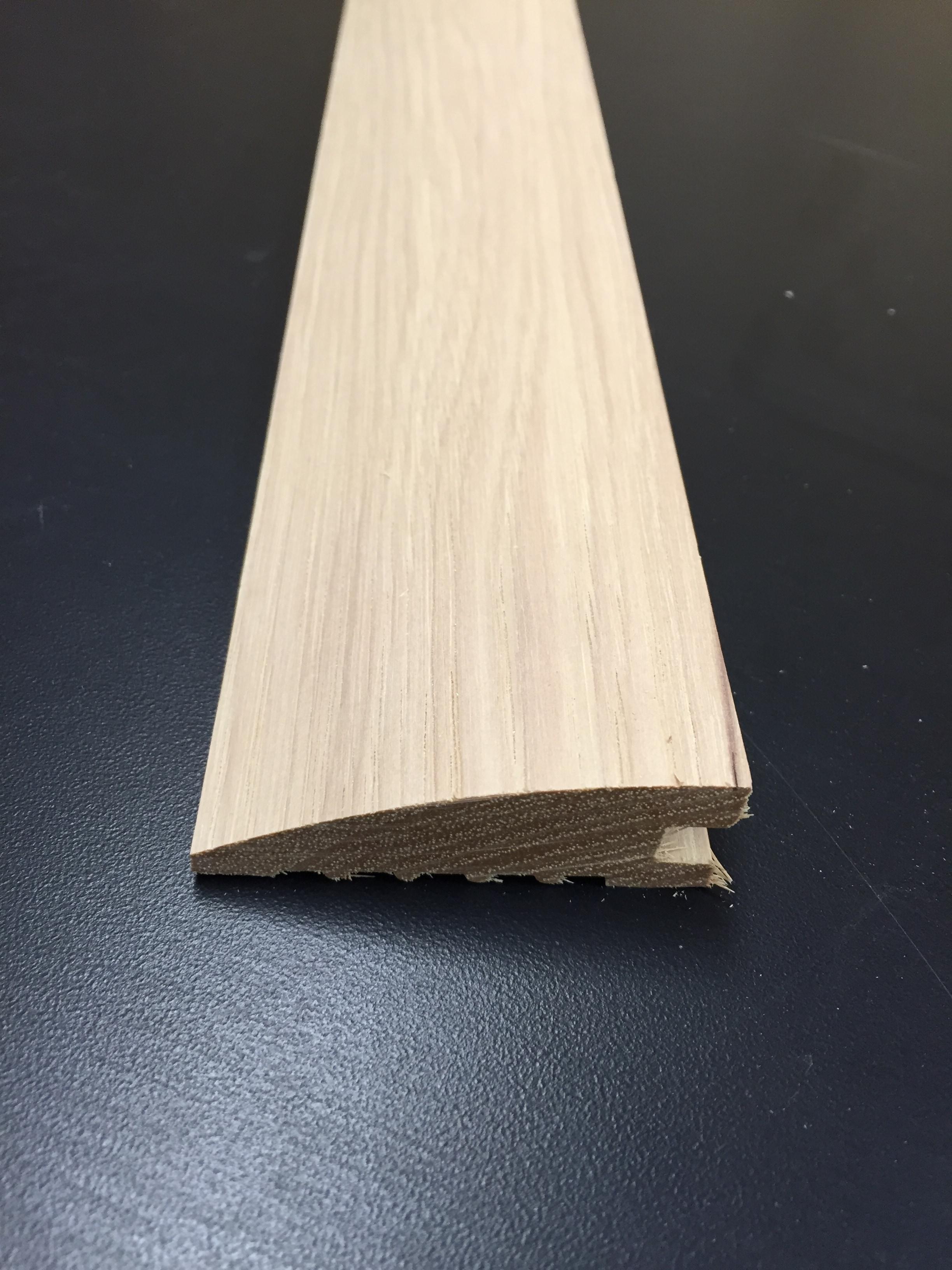 """Reducer / Walnut / 3/4"""" X 2.25"""" / Reducer Wood + Supply - Unfinished Hardwood Floor Moldings 0"""