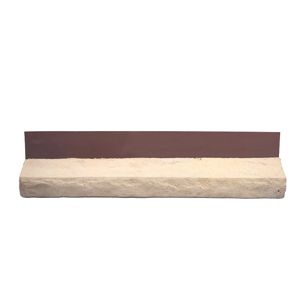 Adorn mortarless stone veneer siding tan 6 lineal ft sill for Mortarless stone veneer panels