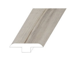 """Vinyl Moldings - Victorum Collection - Axiom Frost - Axiom Frost / T-Molding / 94.5"""" x 1.8"""" x 0.5"""""""