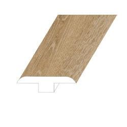 """Vinyl Moldings - Romulus Collection - Concept Oak - Concept Oak / T-Molding / 94.5""""x 1.8""""x 0.5"""""""