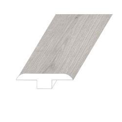 """Vinyl Moldings - Meraki Collection - Iridescent Mist - Iridescent Mist / T-Molding / 94.5"""" x 1.8"""" x 0.5"""""""