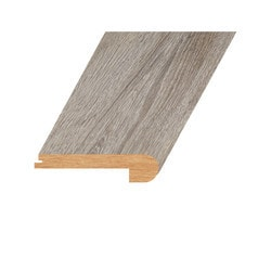 """Laminate Moldings - Marquis Collection - Lustrous Taupe - Lustrous Taupe / Flush Stair Nose / 94.5""""x 4.5""""x 1"""""""