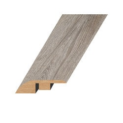 """Laminate Moldings - Marquis Collection - Lustrous Taupe - Lustrous Taupe / Reducer / 94.5""""x 1.8""""x 0.6"""""""