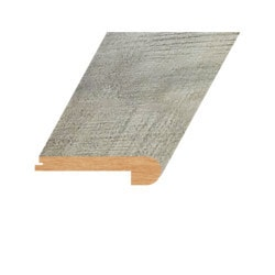 """Laminate Moldings - Summa Collection - Natural Chestnut - Natural Chestnut / Flush Stair Nose / 94.5""""x 4.5""""x 1"""""""