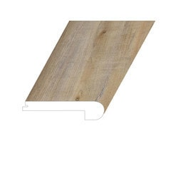 """Vinyl Moldings - Victorum Collection - Noble Fawn - Noble Fawn / Flush Stair Nose / 94.5"""" x 4.5"""" x 1"""""""