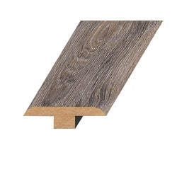 """Laminate Moldings - Marquis Collection - Patent Iron - Patent Iron / T-Molding / 94.5""""x 1.8""""x 0.5"""""""