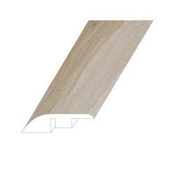 "Vinyl Moldings - Veritas Collection - Provincial Swan - Provincial Swan / Reducer / 94.5""x 1.8""x 0.4"""