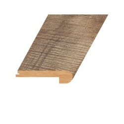 """Laminate Moldings - Summa Collection - Refined Brass - Refined Brass / Flush Stair Nose / 94.5""""x 4.5""""x 1"""""""