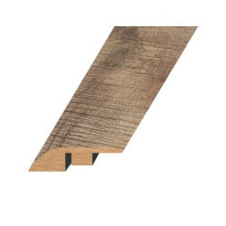 """Laminate Moldings - Summa Collection - Refined Brass - Refined Brass / Reducer / 94.5""""x 1.8""""x 0.6"""""""