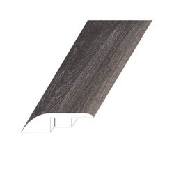 """Vinyl Moldings - Veritas Collection - Rooted Graphite - Rooted Graphite / Reducer / 94.5""""x 1.8""""x 0.4"""""""