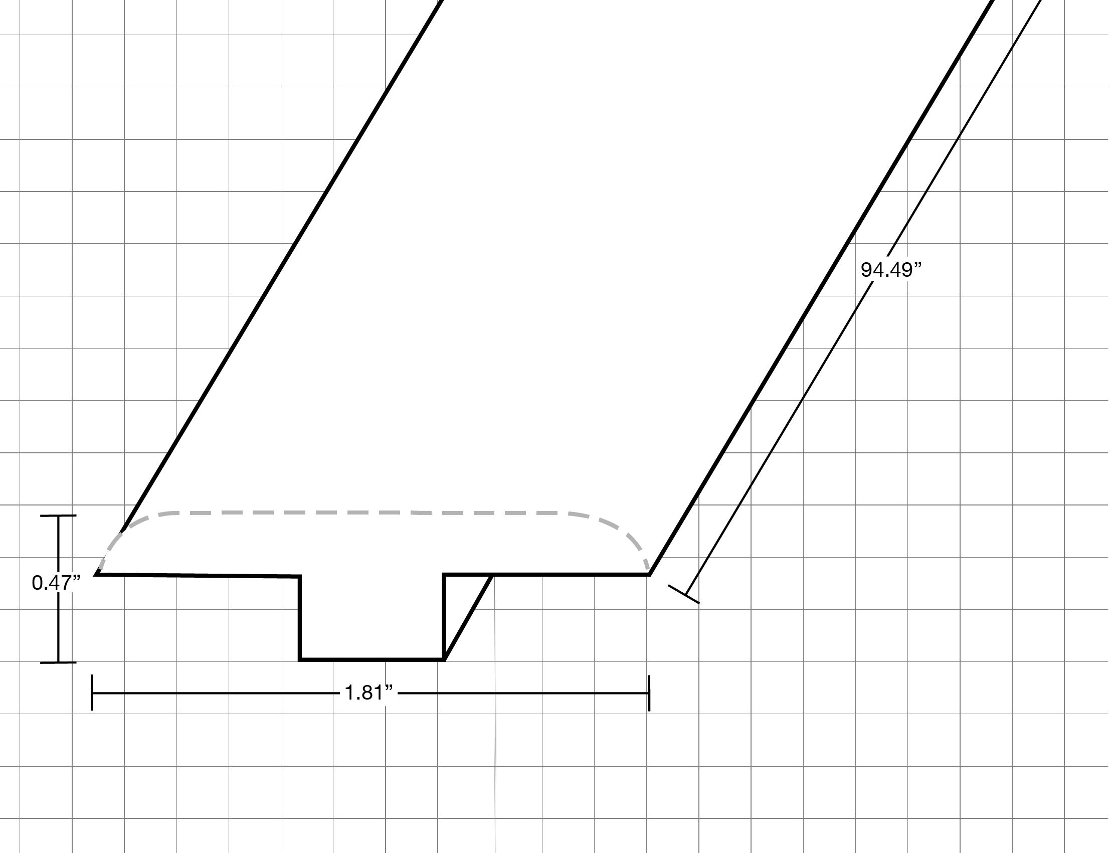 "Royal Blanca / T-Molding / 94.9""x 1.81""x 0.47"" Laminate Moldings - Legendary Collection - Royal Blanca 0"