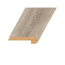 """Laminate Moldings - Marquis Collection - Tinted Sterling - Tinted Sterling / Flush Stair Nose / 94.5""""x 4.5""""x 1"""""""