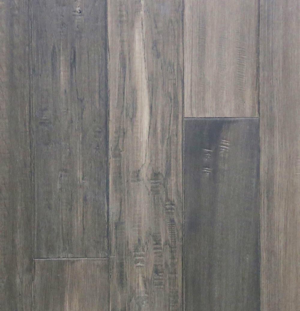 "Cobblestone / Waterproof / Hickory / 5"" Waterproof Engineered Hardwood Varuna Collection 0"