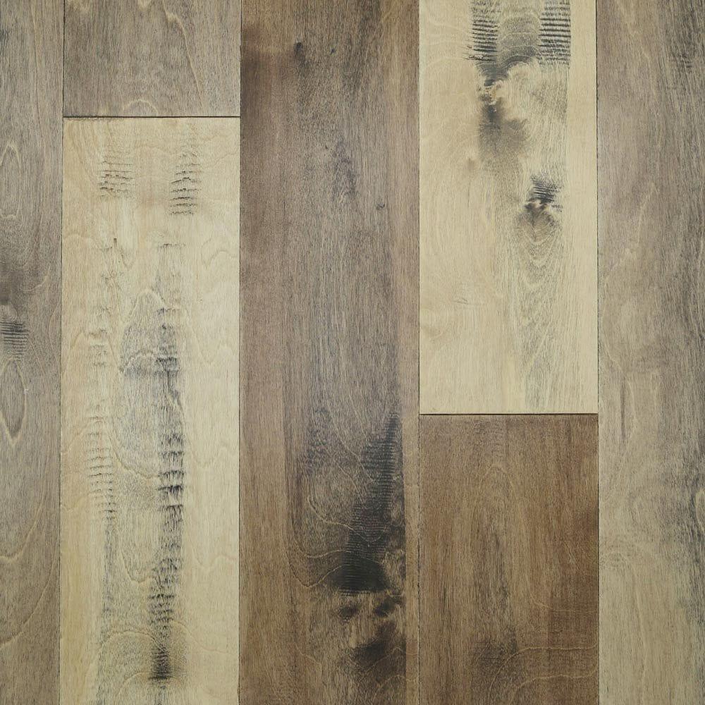 "Rocky Basin / Waterproof / Birch / 5"" Waterproof Engineered Hardwood Varuna Collection 0"