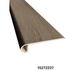 """Vinyl Moldings - Resurgence Collection - Portico French Oak - Portico French Oak / Flush Stair Nose / 88.58""""x 4.61""""x 0.177"""""""