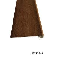 "Vinyl Moldings - Resurgence Collection - Palisades French Oak - Palisades French Oak / Flush Stair Nose / 88.58""x 4.61""x 0.177"""