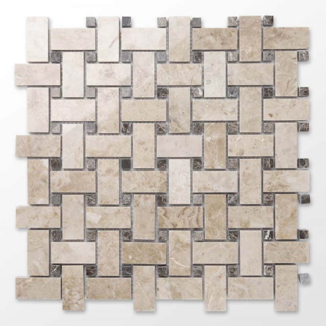 1_cappucino_emprador_dark__polished_marble_mosaics_basketweave_thulahome_com_5c0138385387f