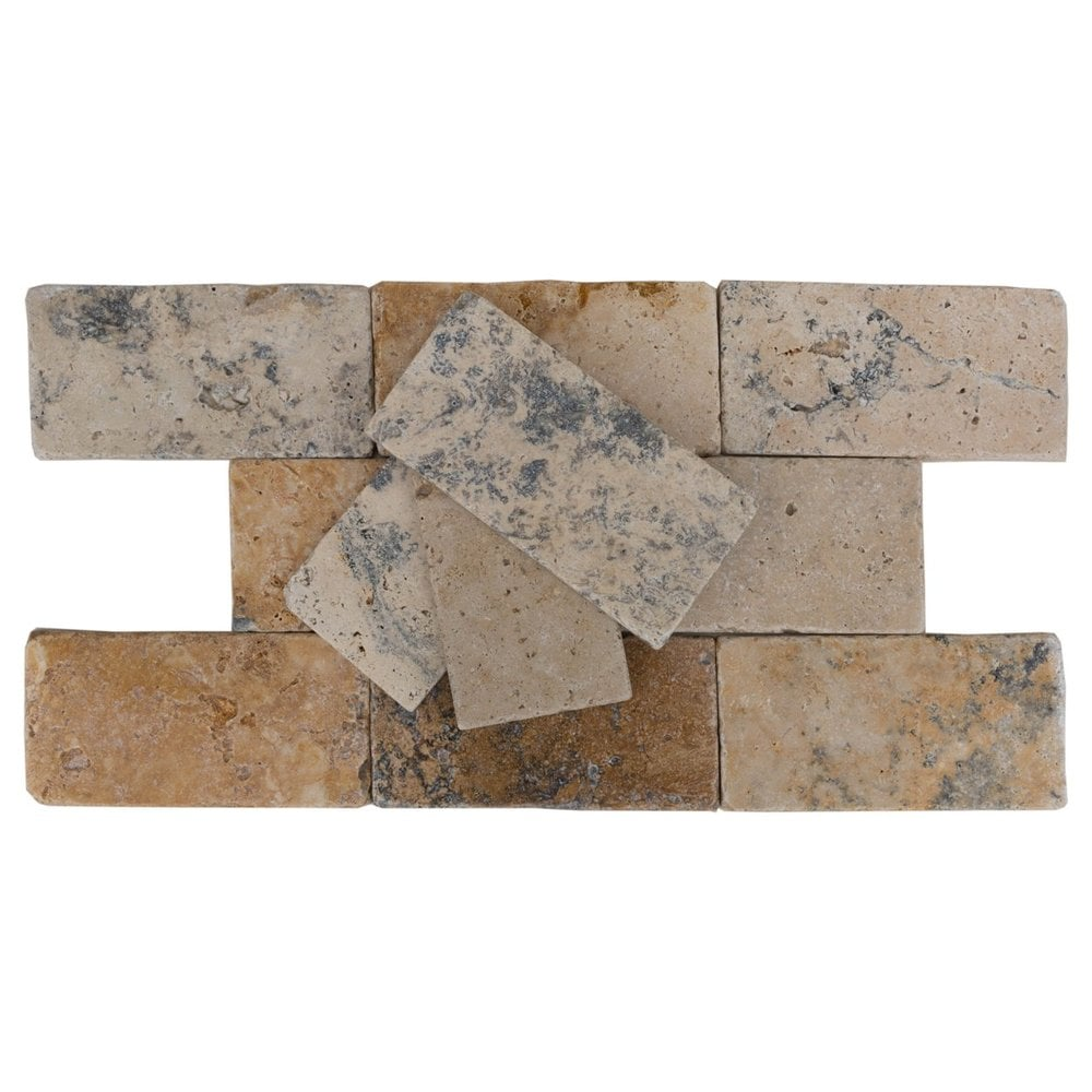 1 natural stone tumbled travertine 3x6 natural golden ink www thulahome com 70 5ac5fb4f8933a
