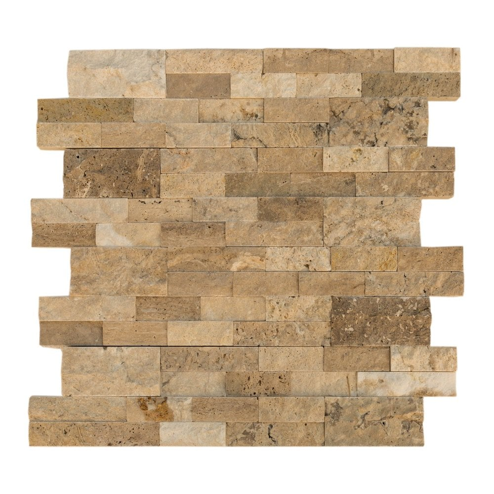 Cabot Natural Ledge Stone Travertine Durango Cream