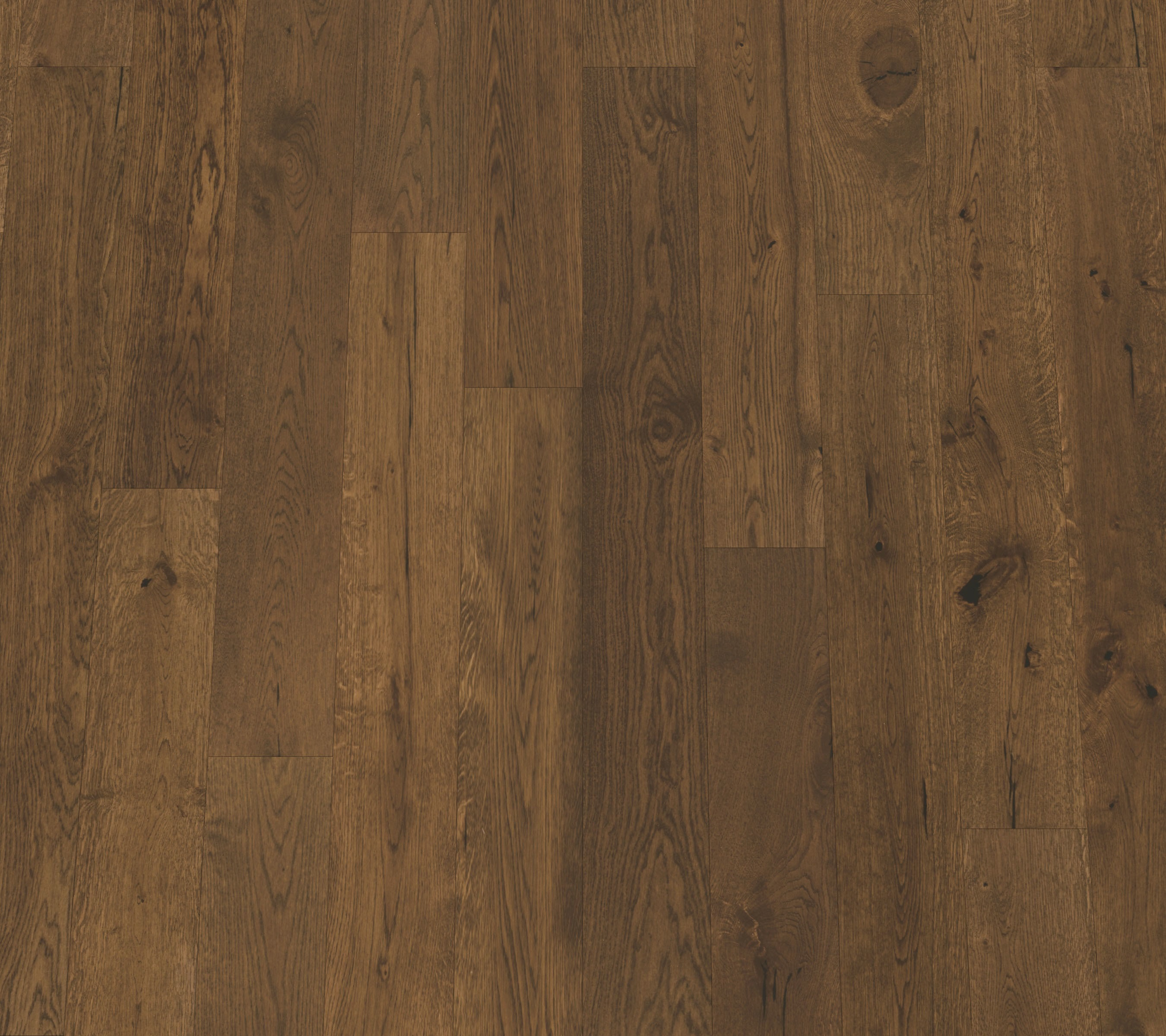 "Lisbon / White Oak / 9 Coats UV Aluminum Oxide / ABCDE / 3/8"" x 5"" x R.L. Big Ass Wood Floors - 1/2"" European Oak Collection 0"