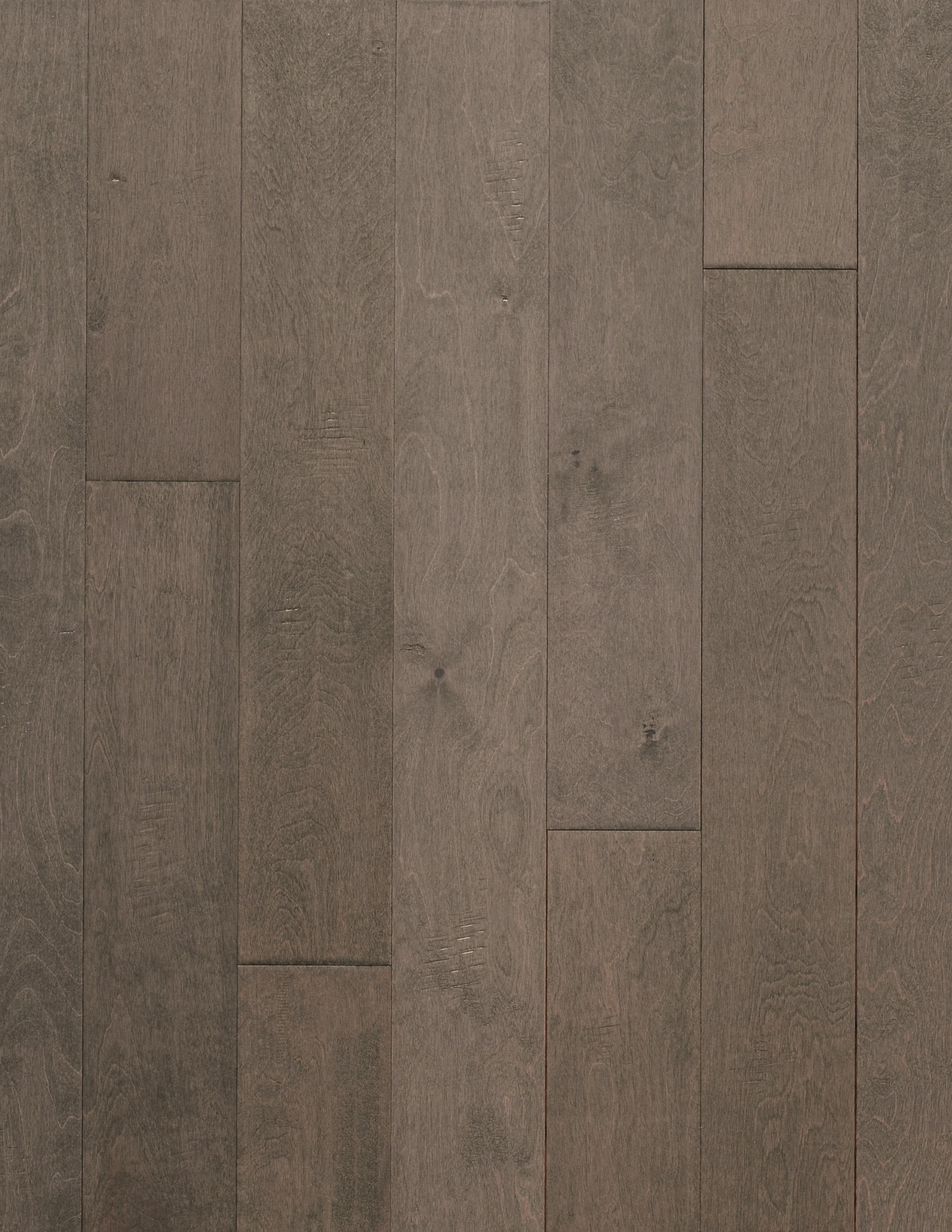 "Jamaica / Birch / 9 Coats UV Aluminum Oxide / ABCDE / 3/8"" x 5"" x R.L Big Ass Wood Floors - New York Collection 0"