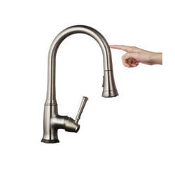 gooseneck kitchen faucet pull down allora usa gooseneck kitchen faucet pull down spray head touch