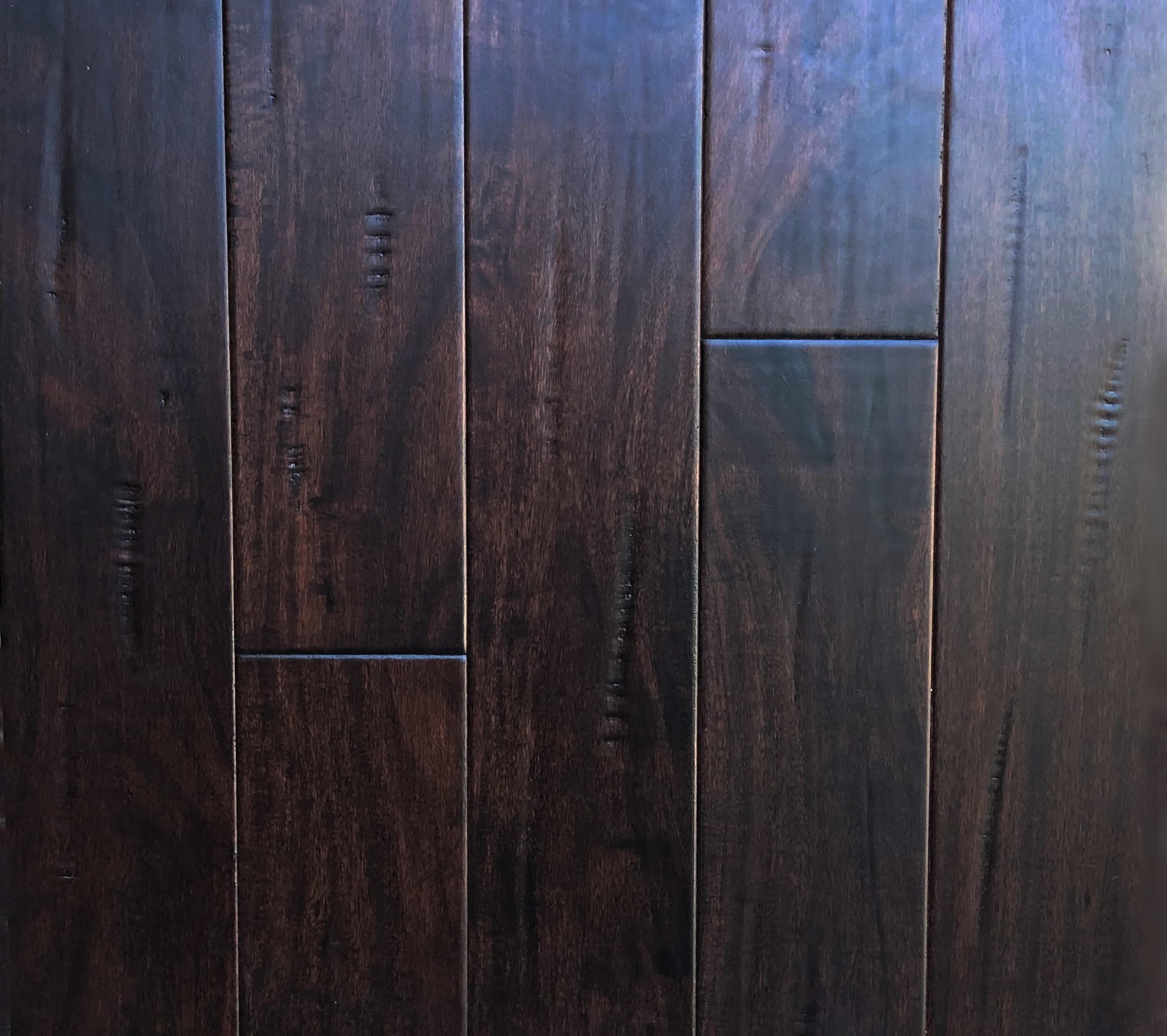 Cognac / Acacia / Treffert UV Cured Urethane Cross-linked fortified finish / RL x 4-3/4 x 9/16 Chelsea Collection, Acacia Engineered Hardwood Flooring 0