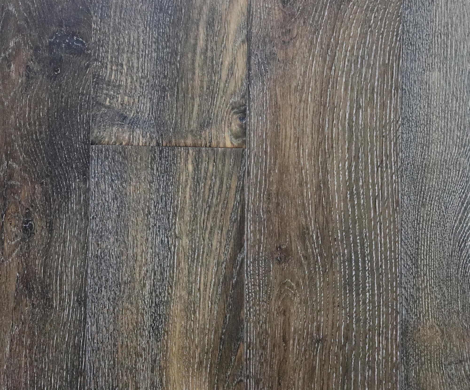 "Dust Storm / Treffert UV Cured Urethane Cross-Linked Fortified Finish / RL x 7-1/2 x 1/2"" Vernon Valley Collection, European Oak Engineered Hardwood 0"