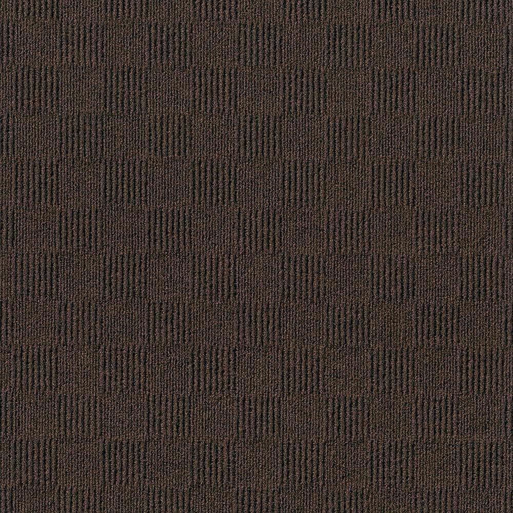 "Mocha / 24"" x 24"" Carpet Tiles - 24"" x 24"" - Crawford Collection 0"