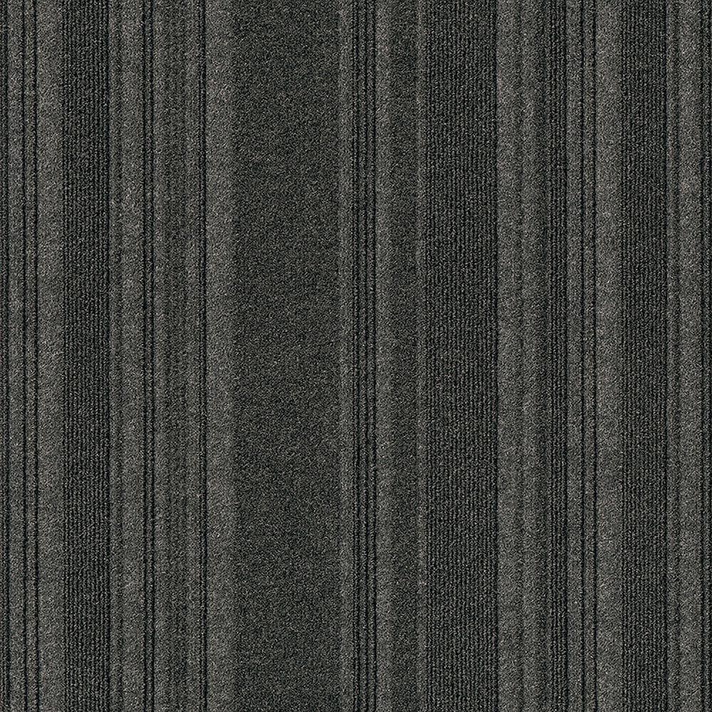 "Black Ice / 24"" x 24"" Carpet Tiles - 24"" x 24"" - Concord Collection 0"