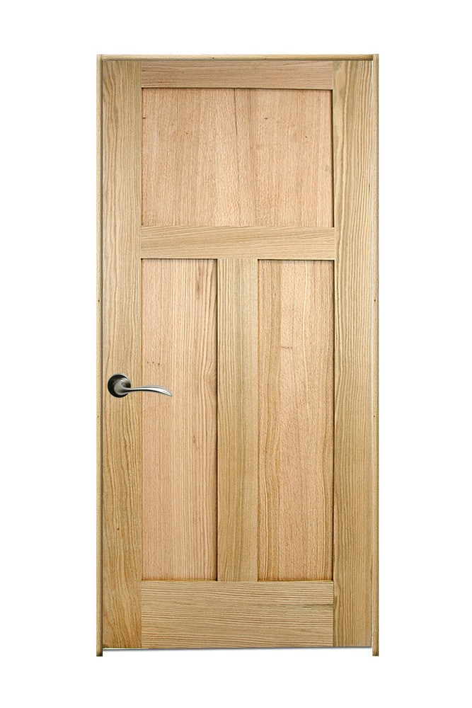 Woodport Doors Oak Interior Door Collection Red Oak 18 Right