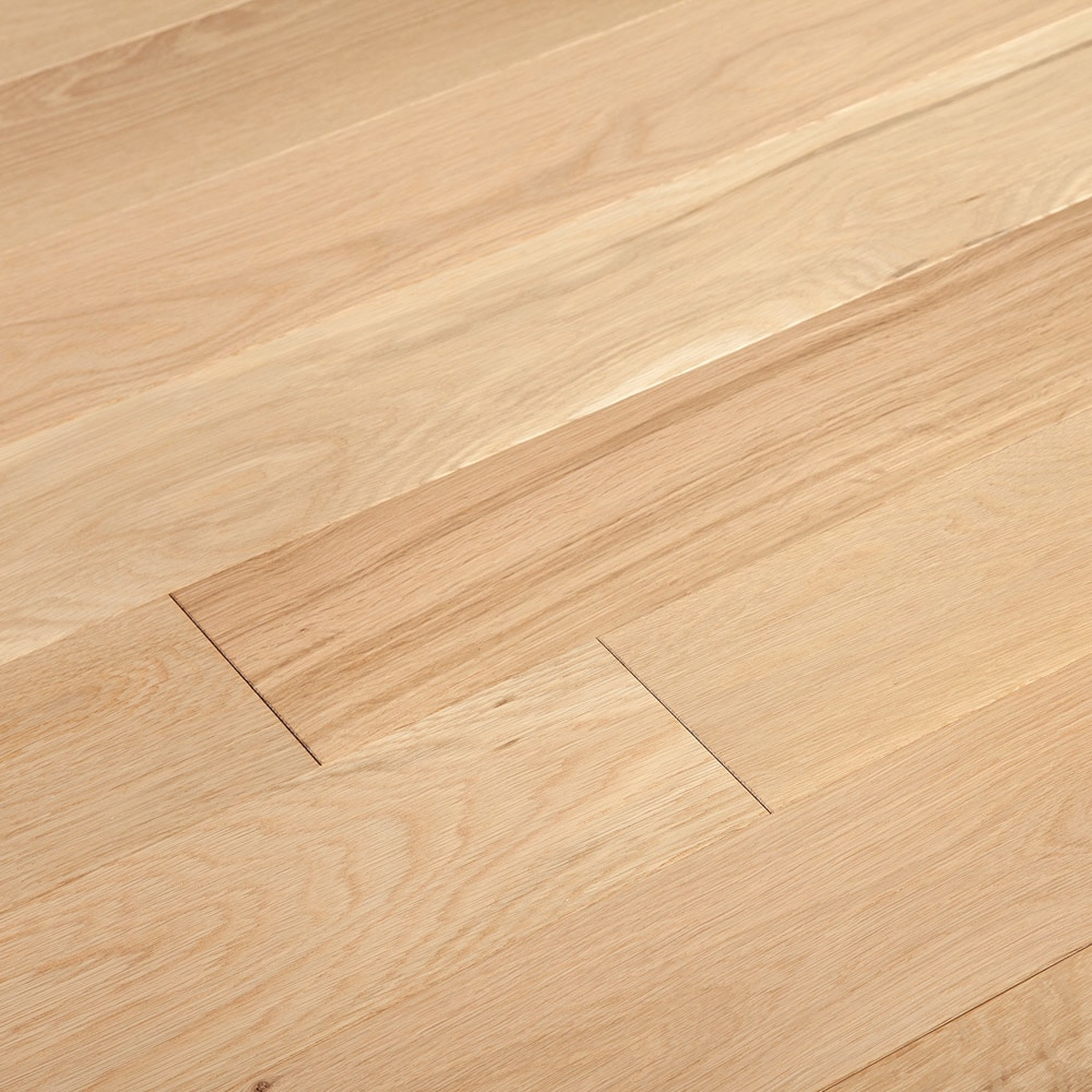 "4mm / Original / White Oak / 3/4"" x 5 1/8"" / Wirebrushed Engineered Hardwood - Foundation Wide Plank Collection 0"
