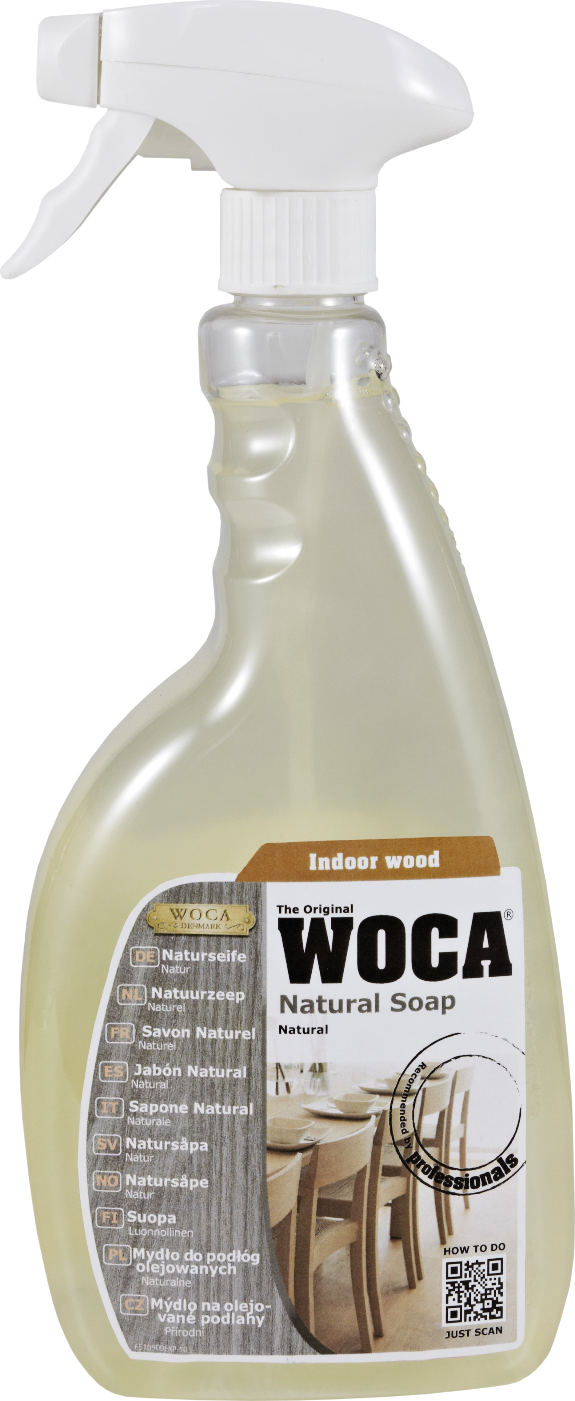 Soap in Spray 0.75 ltr / Natural Butcher Block Accessories 0