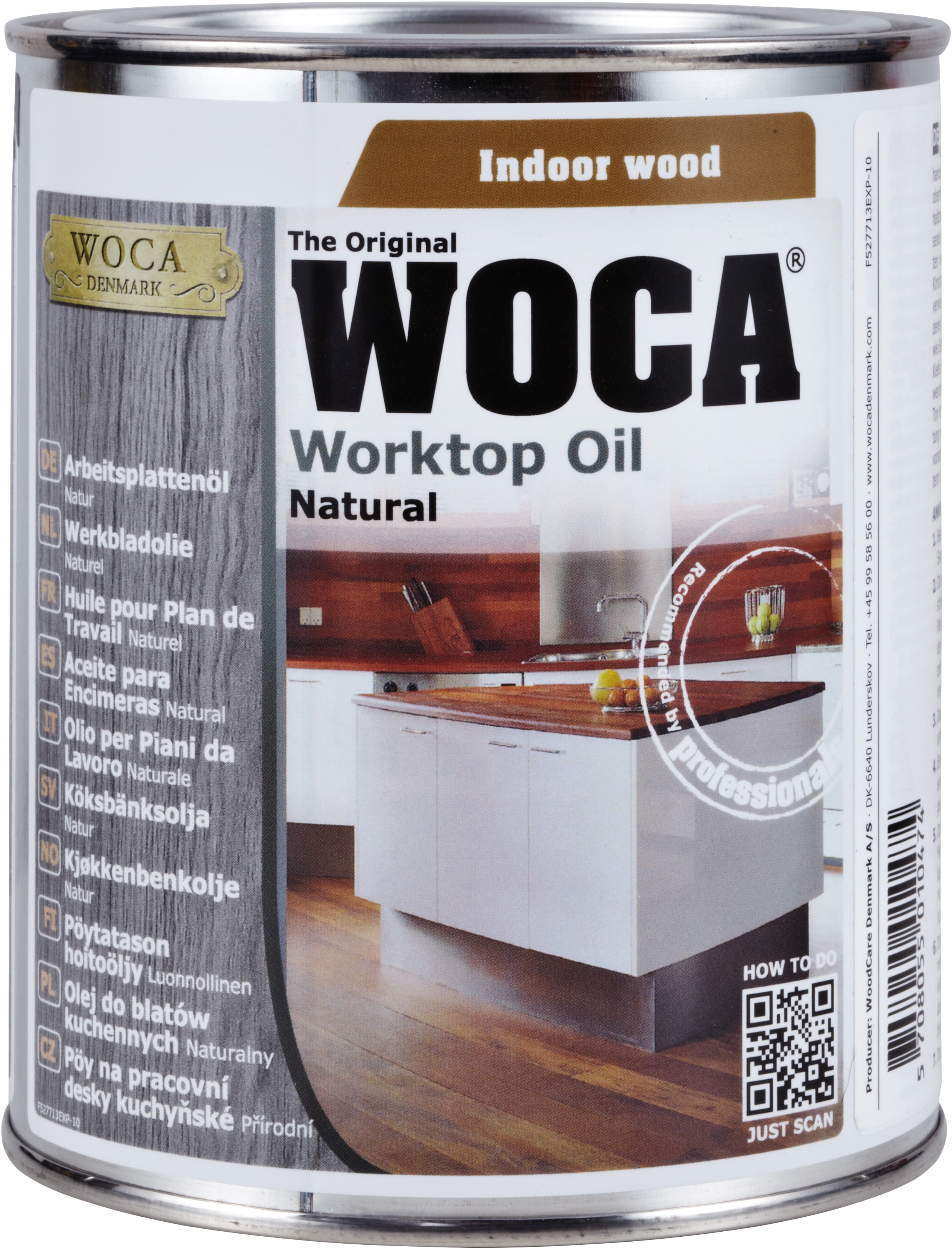 Worktop Oil, FDA Certified, .75 Ltr / Natural Butcher Block Accessories 0