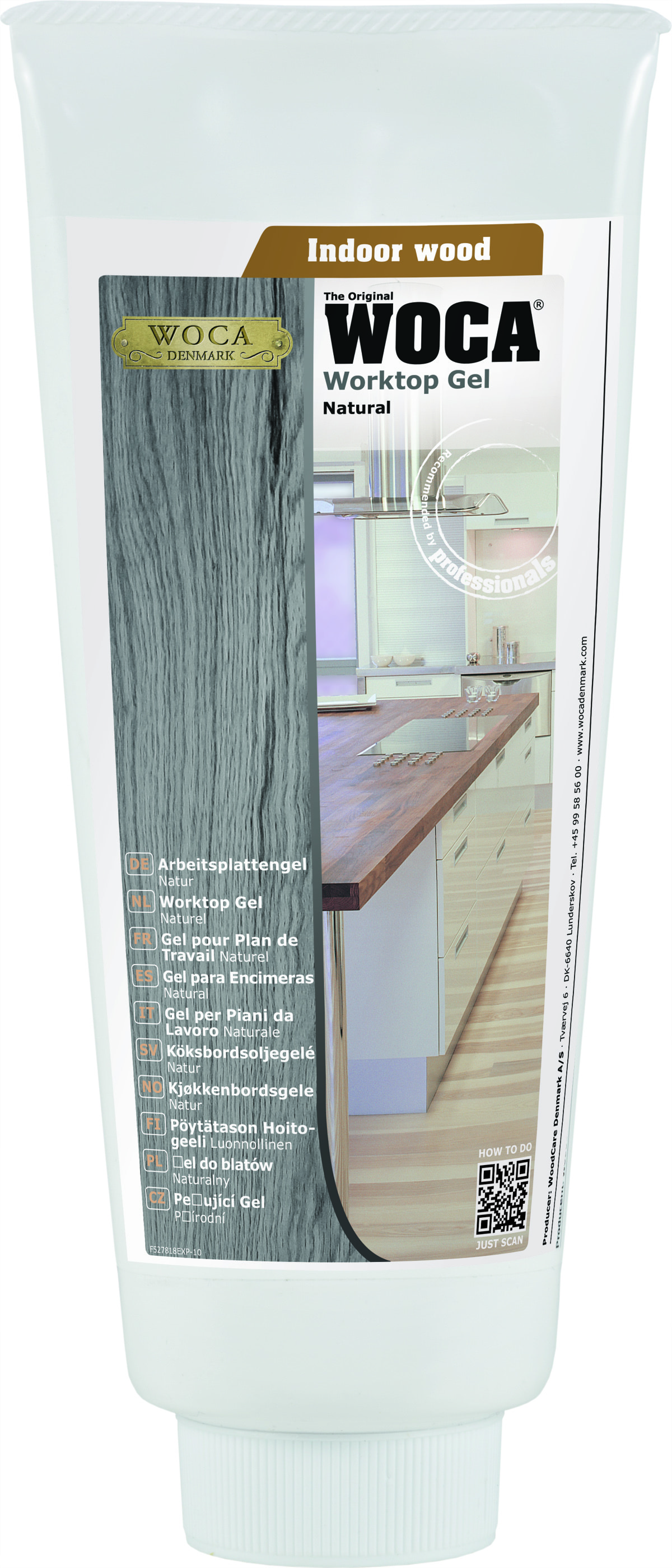 Worktop Gel, FDA Certified, 400 ml / Natural Butcher Block Accessories 0