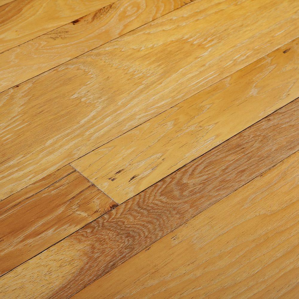 "Fontainebleau / Hickory / 3"" 4"" 7"" Mix Engineered Hardwood - Phoenix Collection 0"