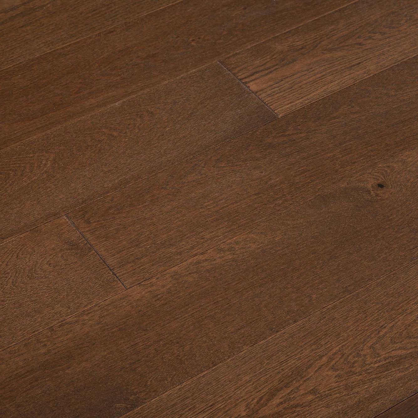 "Willard / Oak / Wirebrushed / Builders Grade / 6 1/2"" Engineered Hardwood - LongHorn Collection 0"