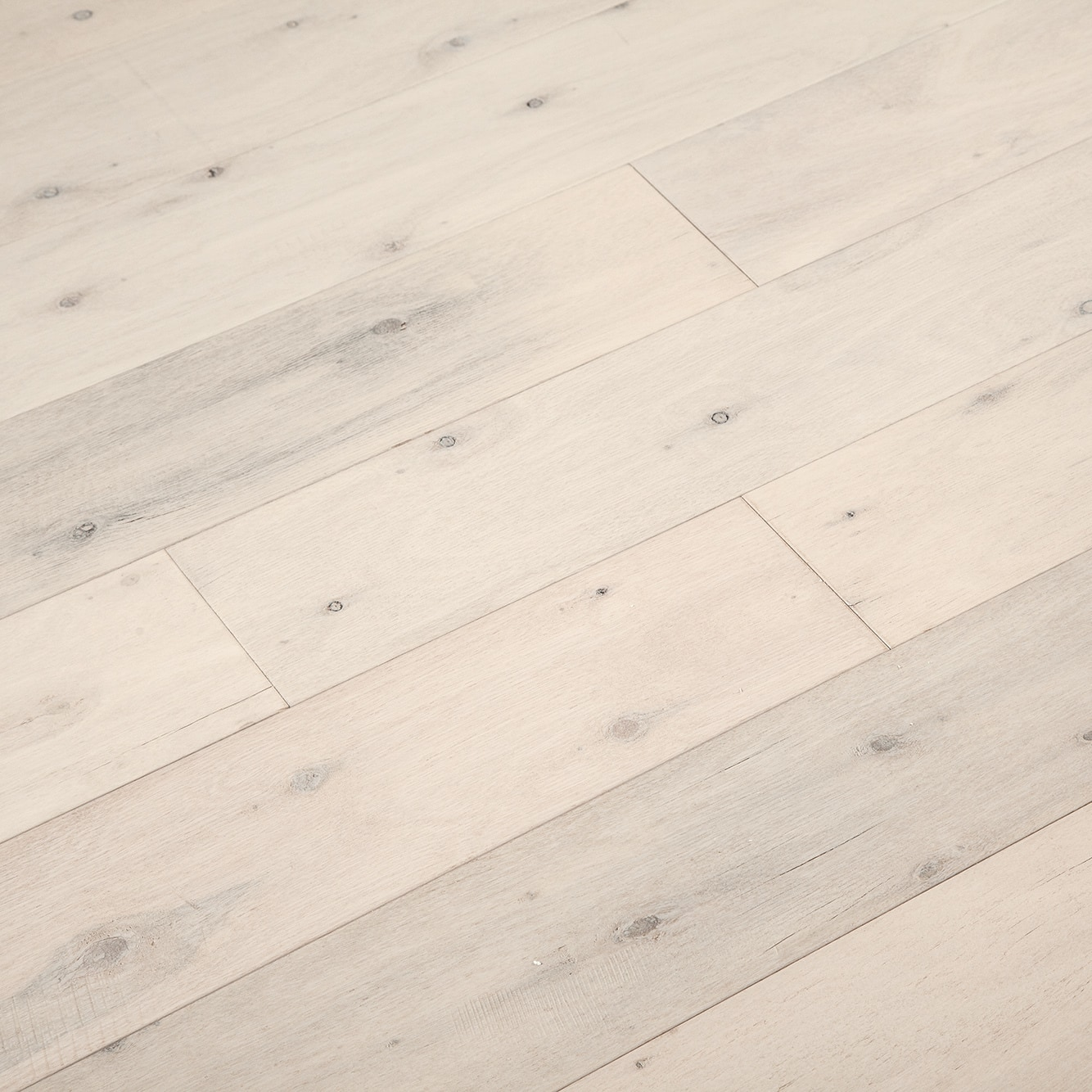 """Cathedral White / Hevea / 5"""" Engineered Hardwood - Exotic Collection 0"""