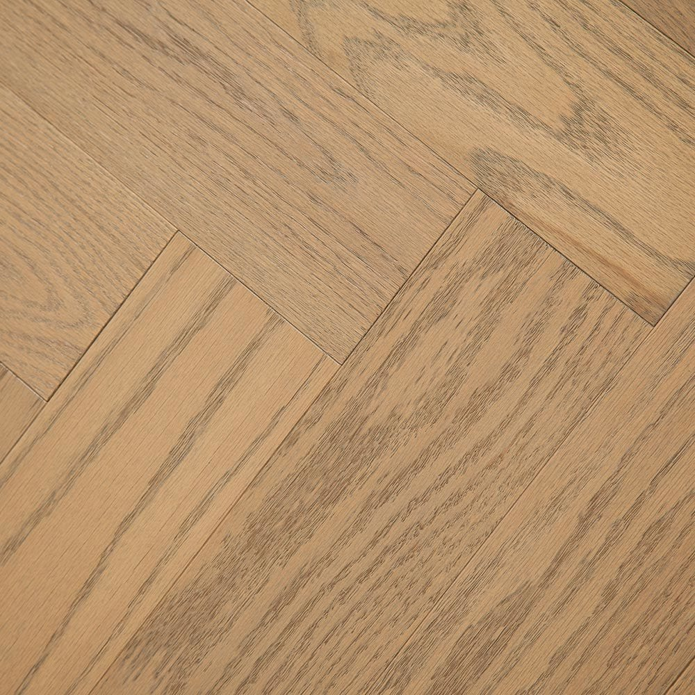 "River Sand / 4-3/4""X 23-5/8"" Engineered Hardwood - Oak Herringbone Collection 0"