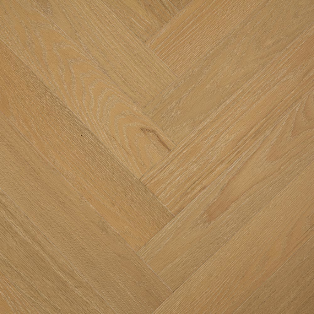 "Nutmeg / 4-3/4""X 23-5/8"" Engineered Hardwood - Oak Herringbone Collection 0"
